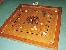 Carrom-billard Indien