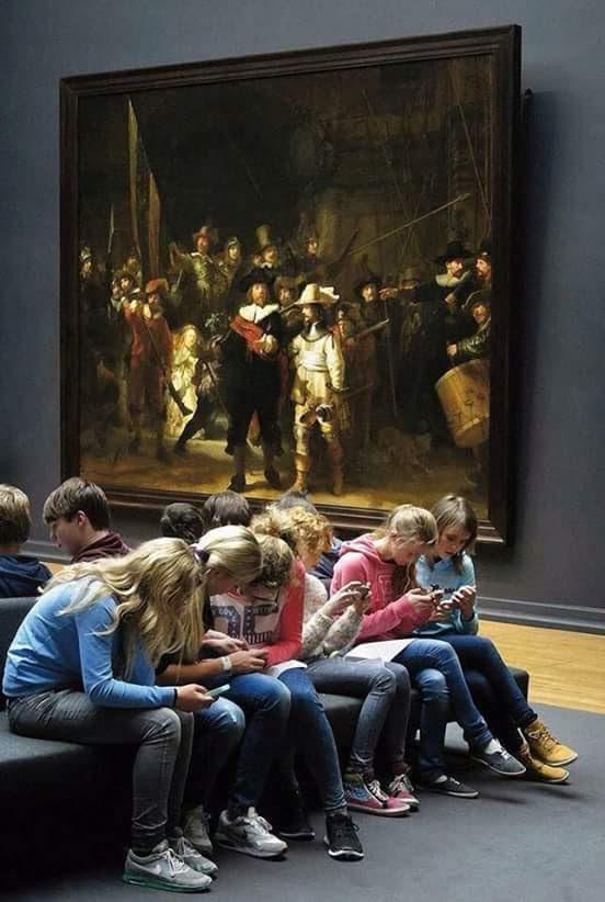 Les ados au musée