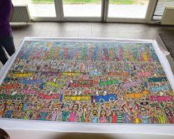 Construction collective d'un puzzle de 5000 pièces