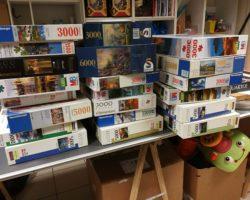 Un don de 20 ans de passion de puzzle
