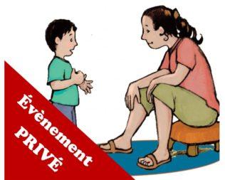 Atelier Parentalité au Jardin de Chantal – Privé