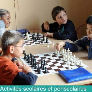 activités scolaires et périscolaires